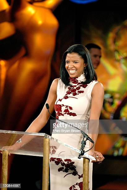 Renee Goldsberry of One Life to Live during The 33rd Annual Daytime Emmy Awards Nominations at ABC Studios in New York New York United States