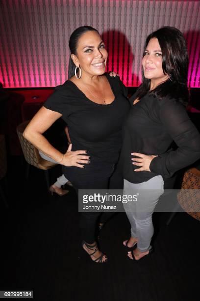 Renee Graziano and Karen Gravano attend James Cruz's Birthday Celebration at Megu New York on June 5 2017 in New York City