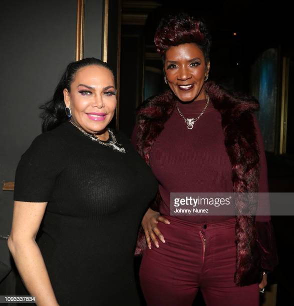 Renee Graziano and Momma Dee attend The Big Game Day Party Hosted by 50 Cent Kevin Hart at Oak on February 2 2019 in Atlanta Georgia