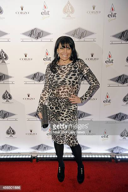 Renee Graziano arrives at the reopening of JayZ's 40/40 Club The Manhattan clubs new $10 million renovation includes four gargantuan stateoftheart...