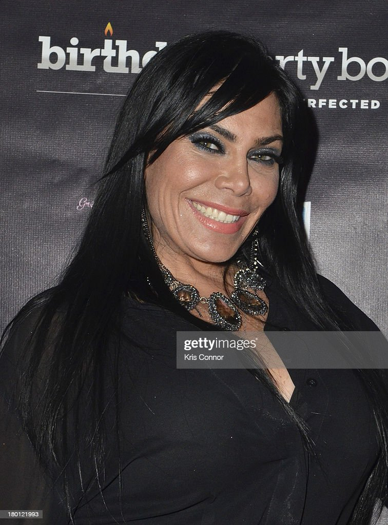 Renee Graziano poses for photos during the 'Miaimi Monkey' New Screening at 49 Grove on September 8, 2013 in New York City.
