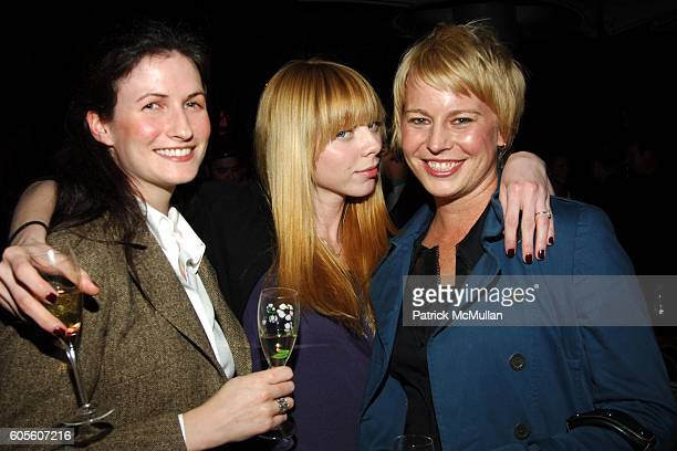 Renee Guilbault Alexi Wasser and Monica Schweiger attend ETRO and Perrier Jouet Celebrate The Launch of Patrick McMullan's Book KISS KISS at Chateau...