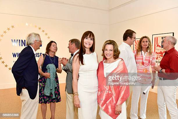 Renee Harbers Liddell and KT McFarland attend the Opening Reception For ICP's Special Exhibition Winning The White House From Press Prints To Selfies...