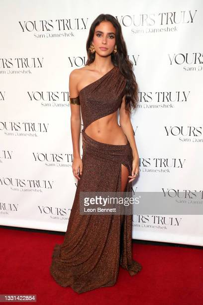 """Renee Herbert attends Celebrity Photographer Sam Dameshek's Black Tie Book Release Event For """"Yours Truly"""" at Fellow on July 29, 2021 in Los Angeles,..."""
