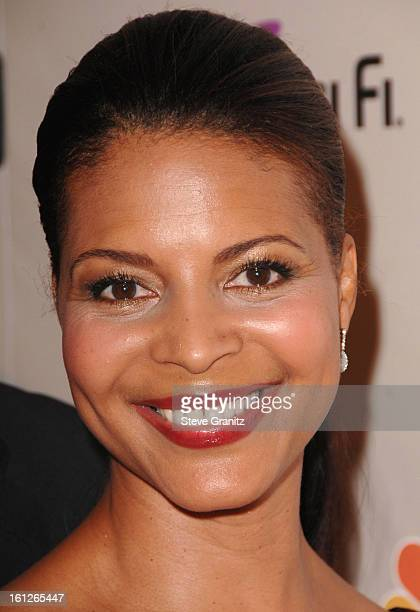 Renee Jones arrives at the NBC Universal 2008 Press Tour AllStar Party at The Beverly Hilton Hotel on July 20 2008 in Beverly Hills California