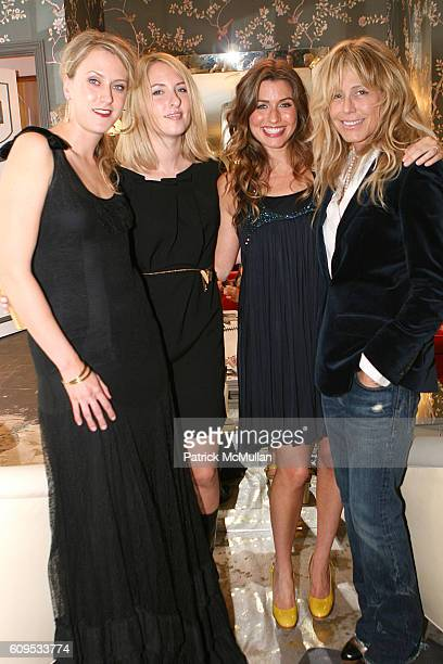 Renee Klein Lisa Salzer Zoe Schaffer and Tracey Ross attend PRESSE Clothing Boutique Fall Shopping Party at Presse on September 27 2007 in Los...