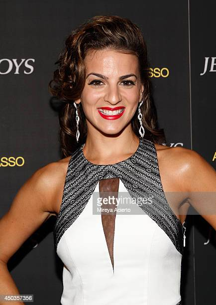 Renee Marino attends the Jersey Boys Special Screening dinner at Angelo Galasso House on June 9 2014 in New York City