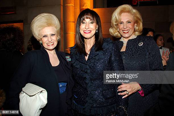 Renee Meyers Sharon Sternheim and Harriet Rose Katz attend The FOOD ALLERGY Initiative's Spring Luncheon at Cipriani 42nd Street on April 17 2007 in...