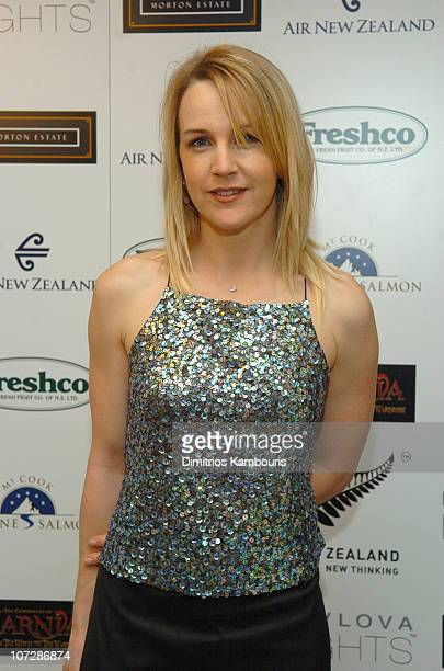 Renee O'Connor during Fourth Annual Celebration of New Zealand Filmmaking and Creative Talent Pre Oscar Dinner at The Beverly Hills Hotel in Beverly...