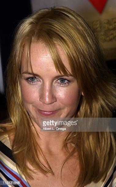 Renee O'Connor of 'Xena Warrior Princess' signing autographs at Creative Light Booth