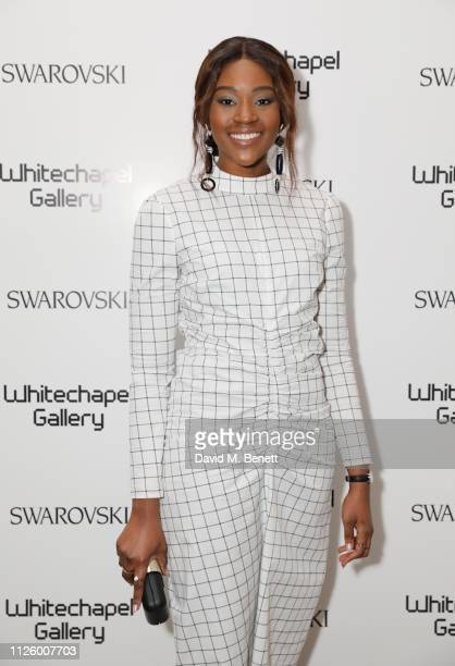 Renee Odjidja attends a glamorous gala dinner at Whitechapel Gallery as Rachel Whiteread is celebrated as the recipient of the Whitechapel Gallery...
