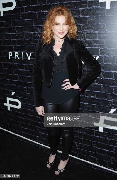 Renee Olstead arrives at Prive Revaux Launch Event at Chateau Marmont on June 1 2017 in Los Angeles California