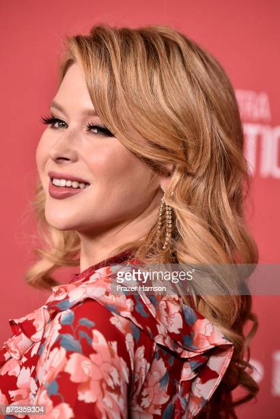 Renee Olstead attends SAGAFTRA Foundation Patron of the Artists Awards at the Wallis Annenberg Center for the Performing Arts 2017 on November 9 2017...