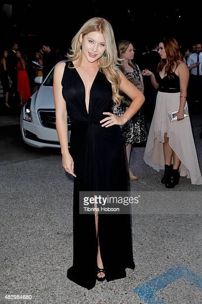 Renee Olstead attends the 2nd annual Ivy Innovator Film Awards hosted by Cadillac at Smogshoppe on August 4 2015 in Los Angeles California