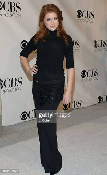 Renee Olstead during CBS/Paramount/UPN/Showtime/King World 2006 TCA Winter Press Tour Party - Red Carpet at The Wind Tunnel in Pasadena, California,...