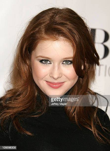 Renee Olstead during CBS/Paramount/UPN/Showtime/King World 2006 TCA Winter Press Tour Party Arrivals at The Wind Tunnel in Pasadena California United...