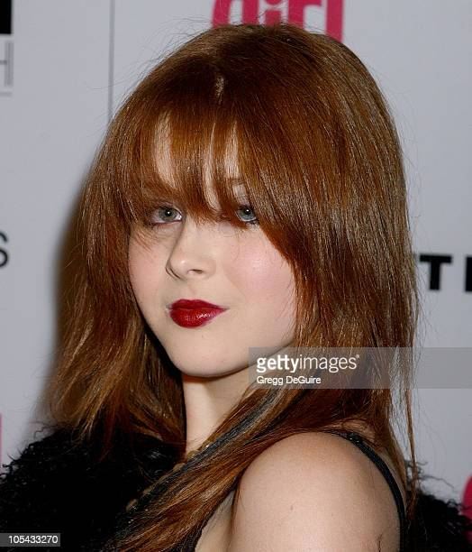 Renee Olstead during ELLEGIRL's 1st Annual Hollywood Prom Arrivals at Hollywood Athletic Club in Hollywood California United States