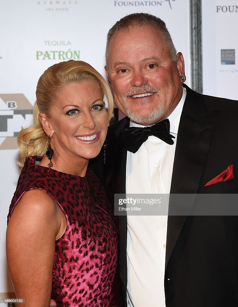 Renee Parsons and Go Daddy Founder Bob Parsons attend Muhammad Ali's
