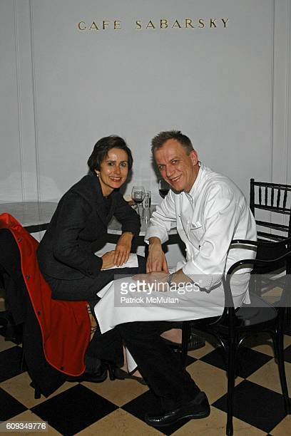 Renee Price and Kurt Gutenbrunner attend Madame Jacques Chirac Madame Georges Pompidou Mr Ronald Lauder and Mrs Randolph Hearst Host a Private Dinner...