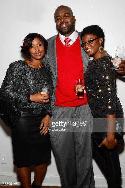 Renee Reese Tra Thomas and Korinne Dennis attend Philadelphia Style Magazine's Holiday Issue Party at Trust on December 19 2013 in Philadelphia...