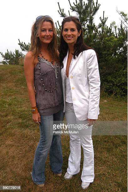 Renee Ryan and Missy Vexler attend Junko Yoshioka Presents Her Evening Wear Collection at Peter and Nejma Beard Residence on July 16 2005 in Montauk...