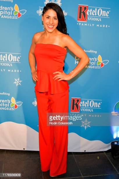 Renee Santos attends the Children's Hospital of Los Angeles Christmas In September Toy Drive at The Abbey on September 24 2019 in West Hollywood...
