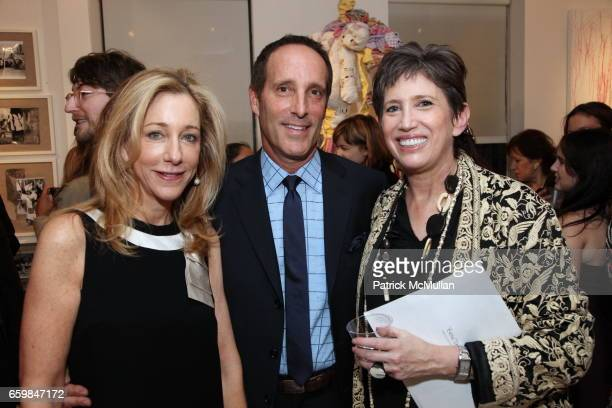 Renee Steinberg Richard Steinberg and Beth Rudin DeWoody attend Opening of IN STITCHES Curated by BETH RUDIN DeWOODY at Leila TaghiniaMilani Heller...