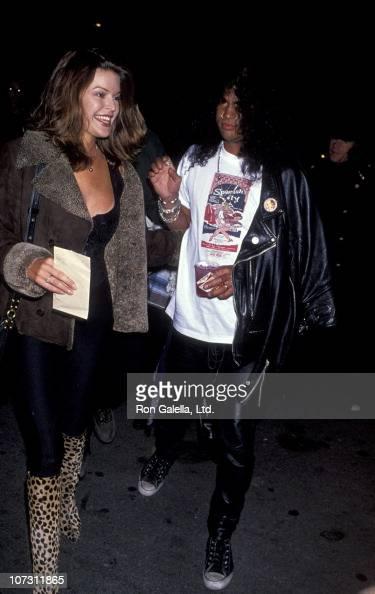 What Is Voodoo >> Renee Suran and Slash of Guns n' Roses during The Rolling ...