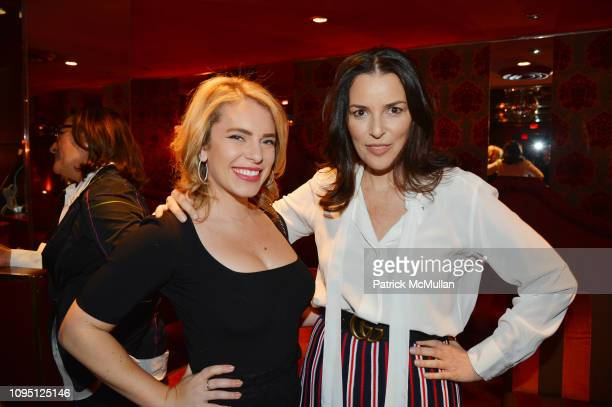 Renee Willett and Ann Caruso attend American Influencer Association Launch Party Featuring Daphne Oz at The Doubles Club on February 6 2019 in New...