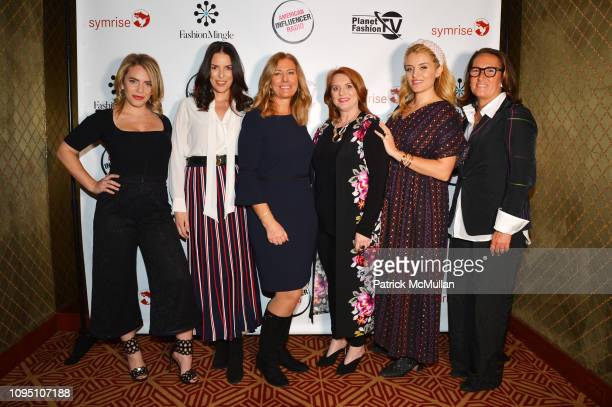 Renee Willett Ann Caruso Beth Smith Melissa Shea Daphne Oz and Christine Schott attend American Influencer Association Launch Party Featuring Daphne...