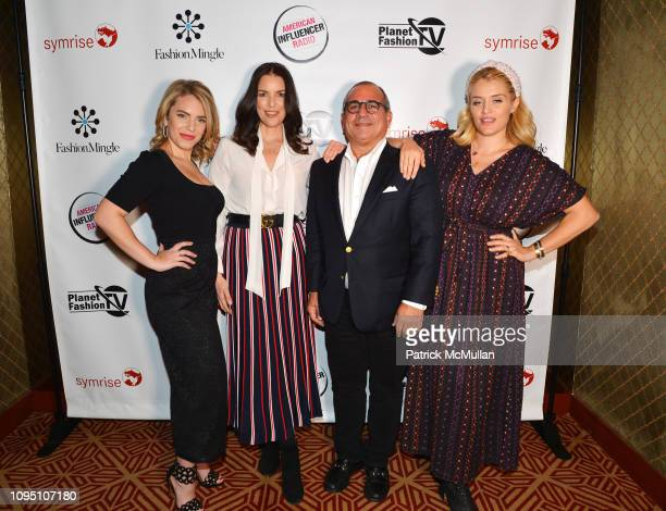 Renee Willett Ann Caruso George Ledes and Daphne Oz attend American Influencer Association Launch Party Featuring Daphne Oz at The Doubles Club on...