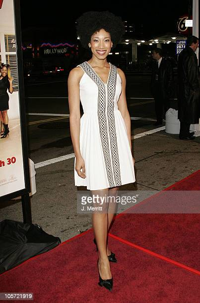 Renee Wilson during Beauty Shop World Premiere at Grauman's Chinese Theatre in Hollywood California United States