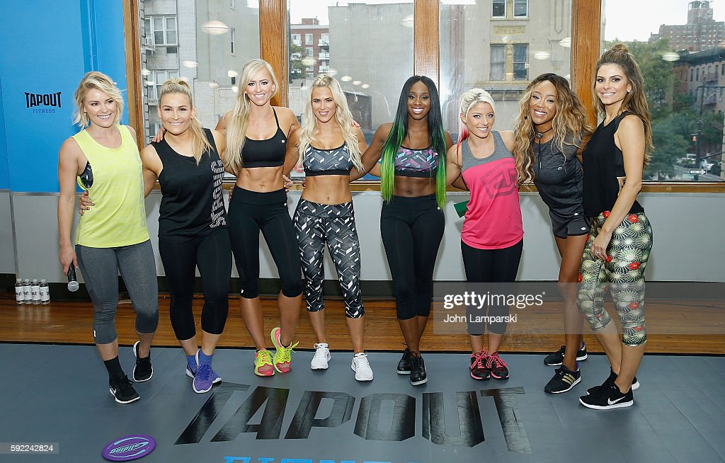 Tapout Fitness WWE Special Event : News Photo