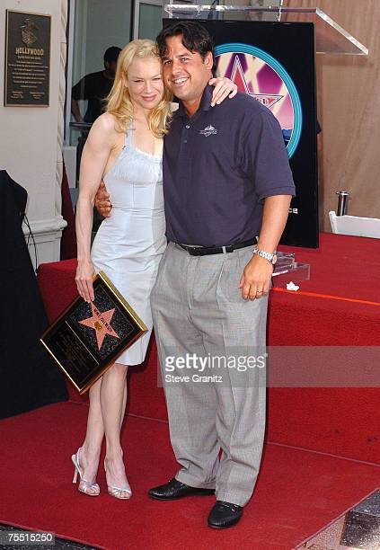 Renee Zellweger and Brother Drew Zellweger at the Hollywood in Hollywood California