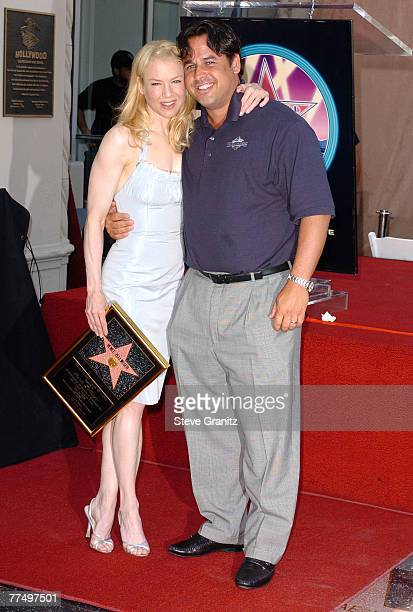 Renee Zellweger and Brother Drew Zellweger