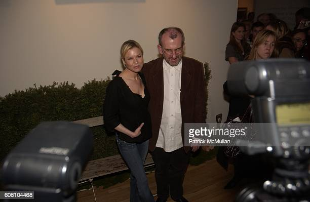 """Renee Zellweger and Chris Noonan attend Tribeca Cinema Series Hosts """"Miss Potter"""" Tea Party and Beatrix Potter Gallery Launch at Tribeca Gallery on..."""