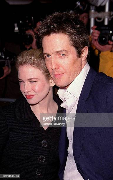 Renee Zellweger and Hugh Grant during Bridget Jones's Diary Premiere at Ziegfeld Theater in New York City New York United States