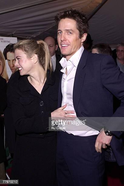 Renee Zellweger and Hugh Grant