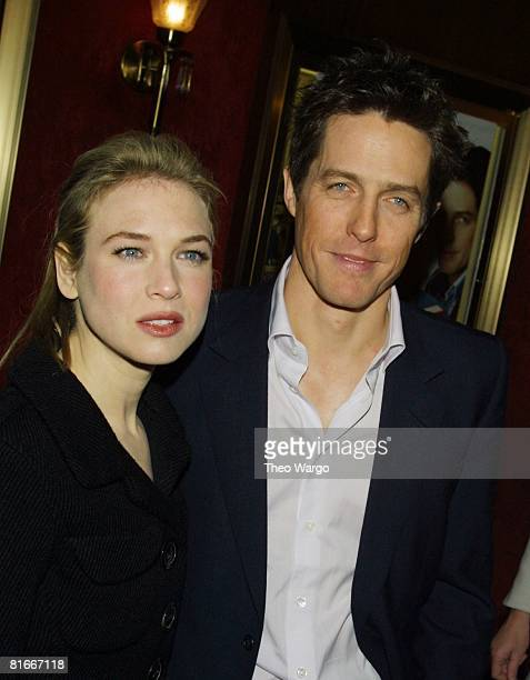 Renee Zellweger and Hugh Grant