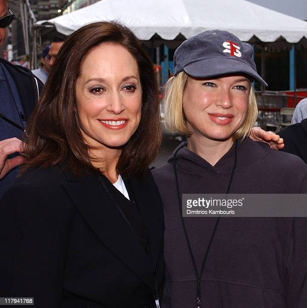 Renee Zellweger and Lilly Tartikoff during 6th Annual Revlon Run/Walk for Women at Times Square in New York City New York United States