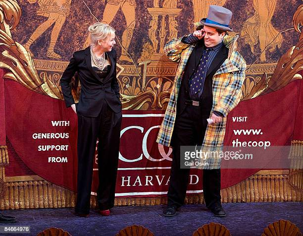 Renee Zellweger and William Brian Polk as Zellweger is honored as Harvard University's Hasty Pudding Club's 2009 Woman of the Year at Harvard...