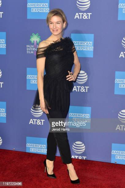 Renee Zellweger arrives at the 2020 Annual Palm Springs International Film Festival Film Awards Gala on January 02 2020 in Palm Springs California