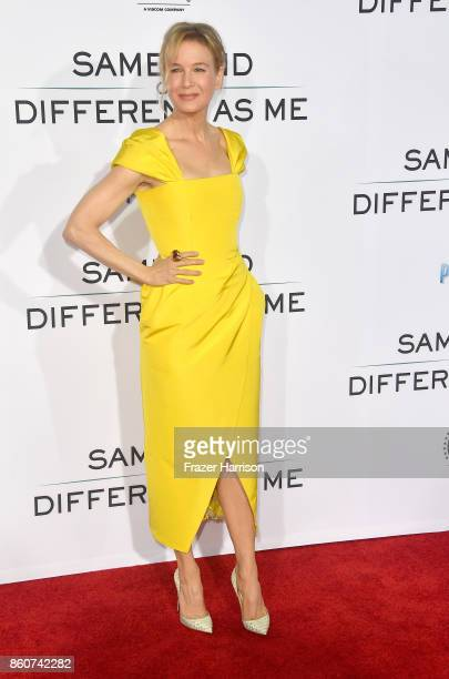 """Renee Zellweger, arrives at the Premiere Of Paramount Pictures And Pure Flix Entertainment's """"Same Kind Of Different As Me"""" at Westwood Village..."""