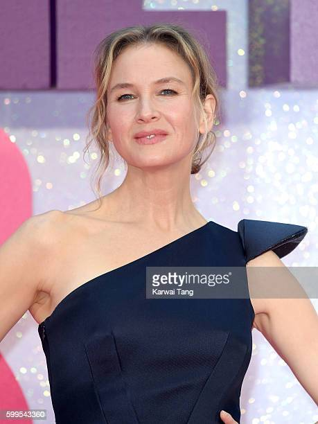 Renee Zellweger arrives for the World premiere of Bridget Jones's Baby at Odeon Leicester Square on September 5 2016 in London England