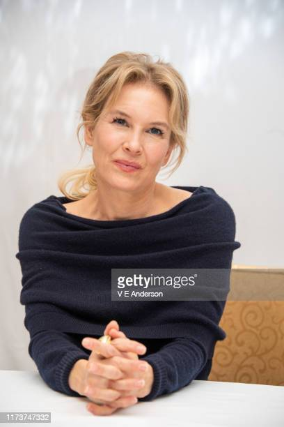 Renee Zellweger at the Judy Press Conference at the Fairmont Royal York on September 09 2019 in Toronto Canada