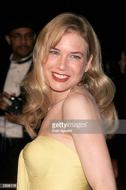 Renee Zellweger at the Vanity Fair Oscar Party at Morton's in Los Angeles CA Photo Evan Agostin / ImageDirect