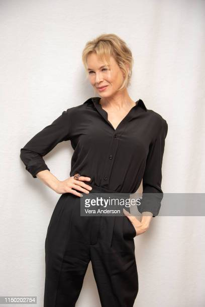 Renee Zellweger at the What/If Press Conference at The London Hotel on May 17 2019 in West Hollywood California