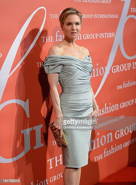 Renee Zellweger attends the 29th Annual Fashion Group International Night Of Stars at Cipriani Wall Street on October 25 2012 in New York City