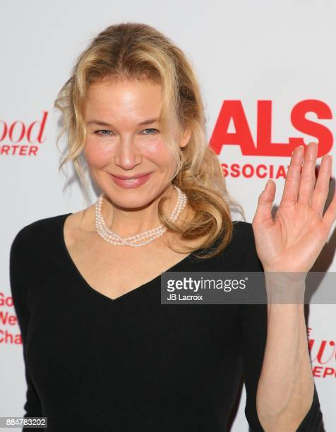 Renee Zellweger attends the ALS Golden West Chapter Hosts Champions for Care and a cure on December 02 2017 in Los Angeles California