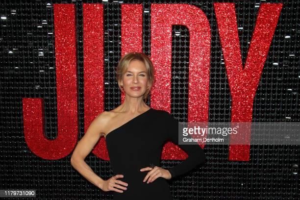 Renee Zellweger attends the Australian premiere of Judy at The Capitol on October 08 2019 in Melbourne Australia